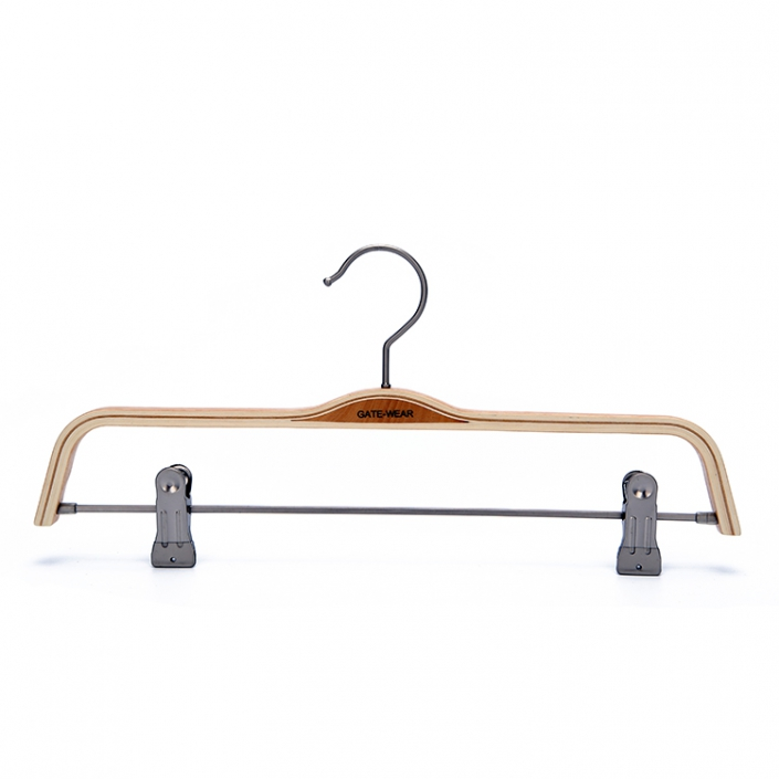 Adjustable Laminated Wooden Clip Hangers (2)