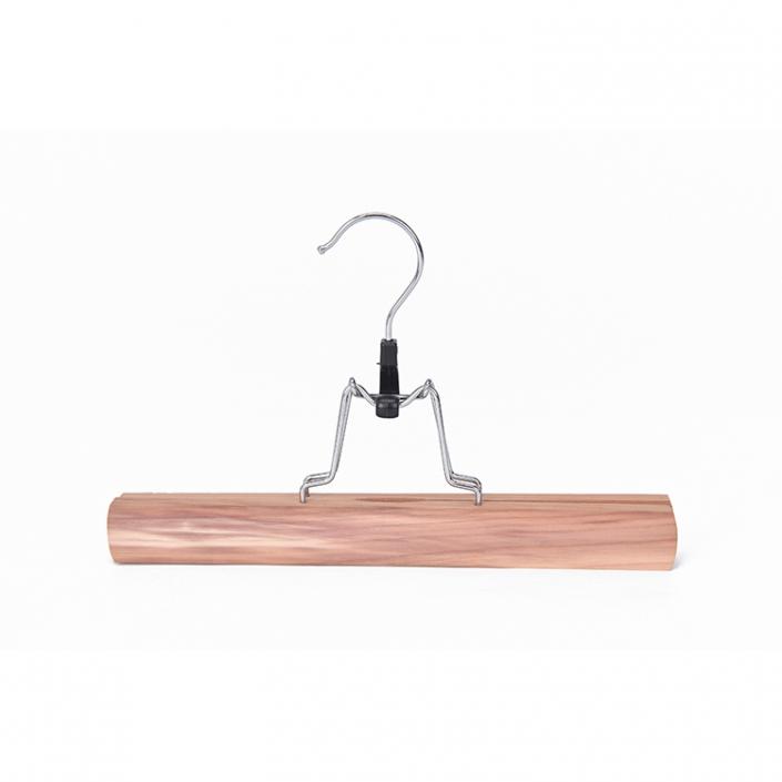 Basic Clamp SkirtPant Hanger, Cedar (1)