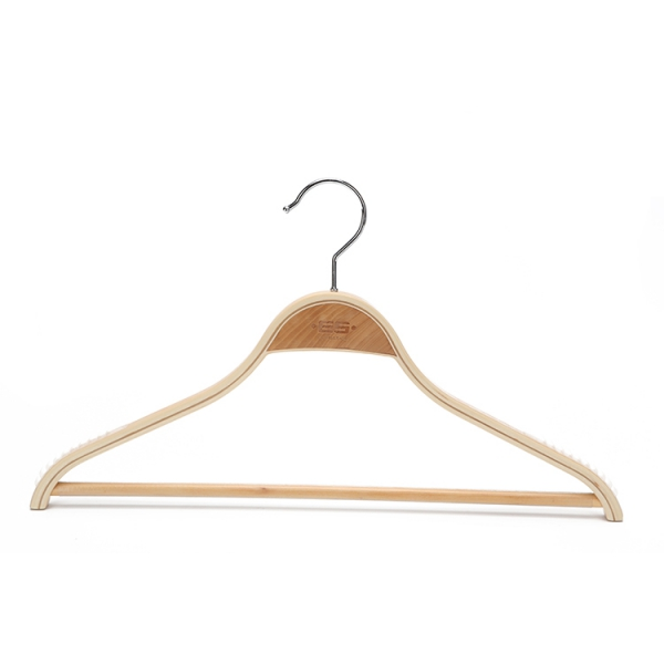 Classic Laminated Wooden Trouser Bar Hanger (2)