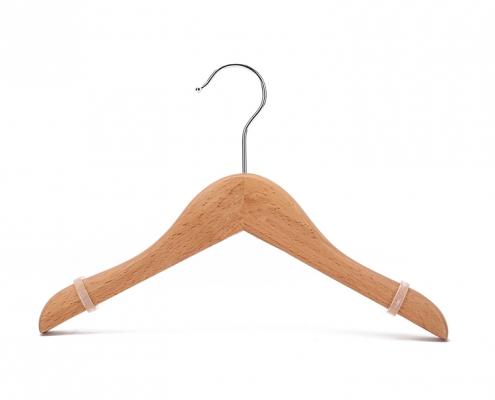 Classic Natural Wooden Kid's Hanger (3)