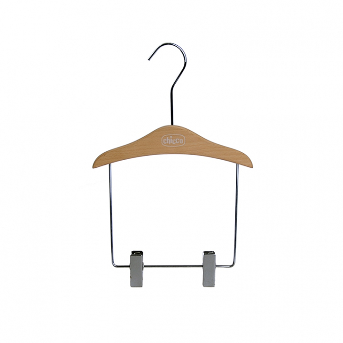 Outfit Display Natural Wooden Kid's Hanger (2)