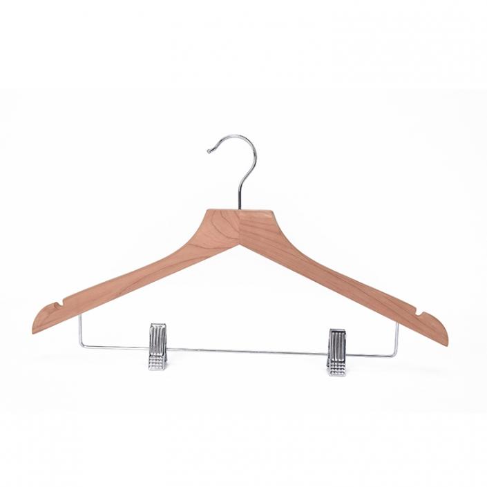 Premium Red Cedar Aromatic Wood Coat Hanger, Suit Hanger, Jacket Hanger, Natural Cedar Color Smooth Finish (3)